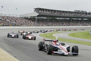 Indy 500 1st Turn